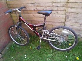 Teens magna torsion 15 speed mountain bike