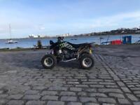 Suzuki Ltz 400 road legal quad bike.