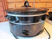 CrockPot Slow Cooker 3.5 litre As new, unwanted Xmas Present