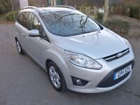 Ford Grand C-Max 1.6 TDCi Zetec 5dr (7 Seats) 7 seats+only 1 previous owner