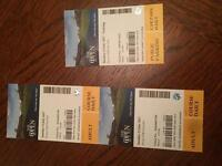 Open golf tickets