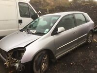 Honda Civic petrol spare parts Available