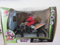 Zap Toys Remote Control Quad Bike ATV With Rider Boxed