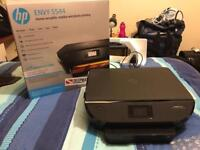 HP wifi color printer and scanner Envy 5544