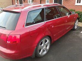 Audi A4 2.0 TDi S Line Avant. 158,000 Miles. £2595