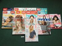 Few recent Vogues & other magazines