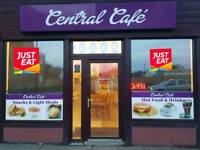 Cafe business with lease for sale