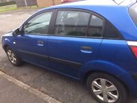 Blue Diesel Kia Rio 16v for sale