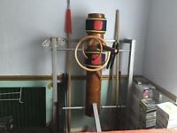 Wing Chun wooden dummy Mak Yan Jung