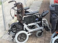 Escape PWR SE Powered Wheelchair 4 New wheels & tyres & serviced October 2017 with kerb climbers