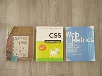 Web Design & Prototyping Books for SALE