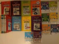 Diary Of A Wimpy Kid Books + Survival Guide's