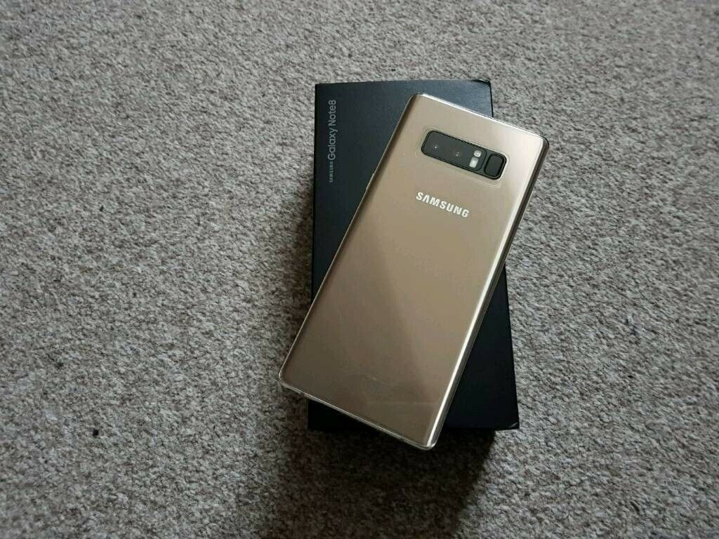 New Samsung Galaxy Note 8 Gold + Dex Station Mini Pc Sim Free | in South  East London, London | Gumtree