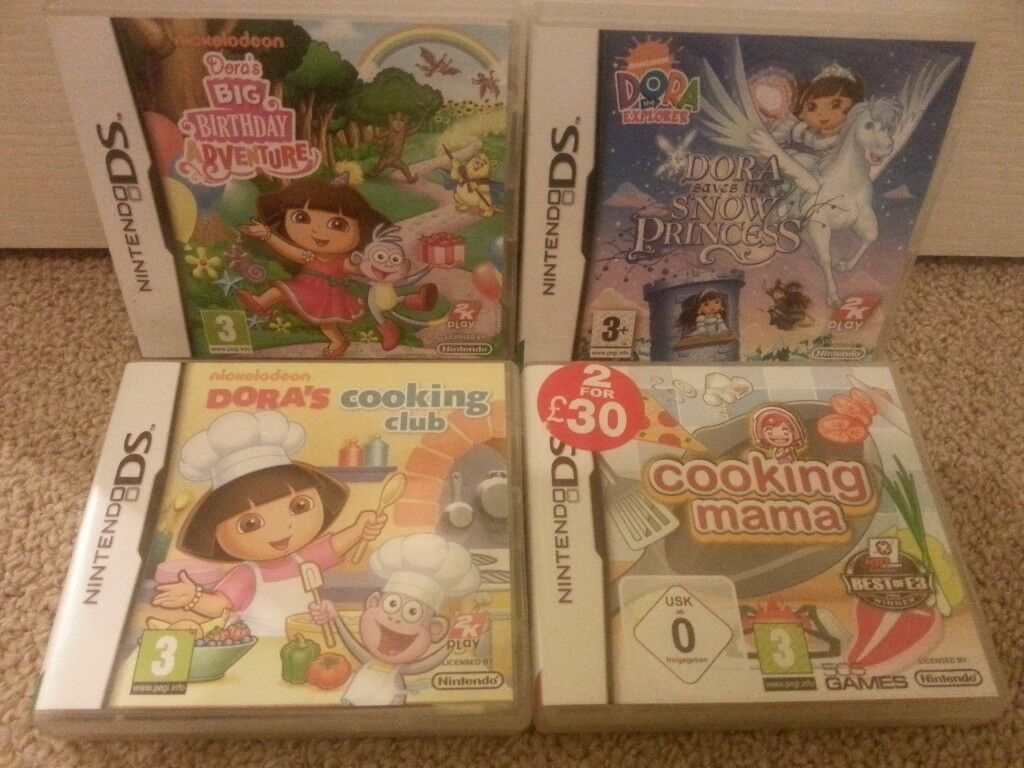 DORA THE EXPLORER: Ds Bundle