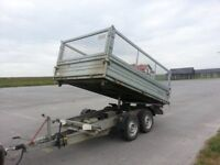 2014 TIPPING TRAILER 3.5 TON 6/10 foot Tipper