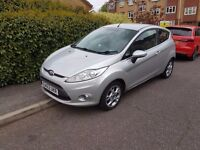 Perfect Condition Ford Fiesta Zetec 1.2 (2012) with FULL MOT and SERVICE HISTORY