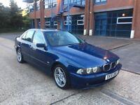 2001 (51) BMW 525D SPORT AUTO DIESEL LONG MOT TOPPAZ BLUE