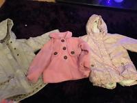 Girls next coats 3-4