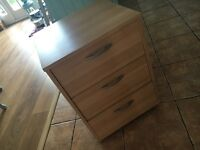 IKEA office drawer with 3 draws, good condition