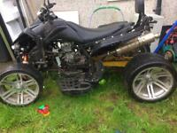 250 cc road legal quad