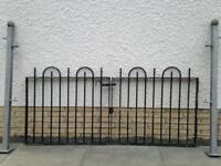 Galvanised gates & posts