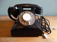 BAKELITE VINTAGE, RETRO TELEPHONE