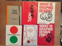 6 Graphic Design Books