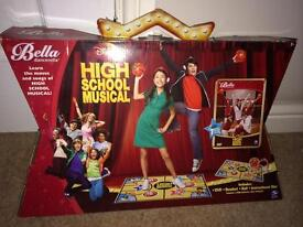 Bella Dancerella High School Musical – DVD, Ball & Practice Mat Boxed – VGC