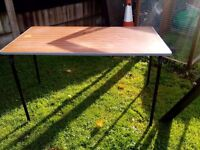 Strong sturdy table