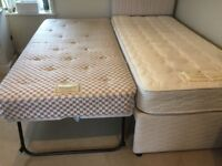 Quality 3 ft single bed with pull out 3 ft guest bed - by Airsprung Furniture
