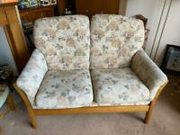 Ercol country style 3 piece suite
