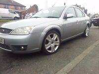 FORD MONDEO 2.0 TDCI TURBODIESEL 6 SPEED 2004 MODEL ST SPOILER/BUMPER 18INCH ALLOYS 2OWNER 60MPG 575