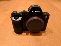 Sony A7 / Alpha 7 - Full Frame Digital Camera - not DSLR (mirrorless) - Excellent Condition