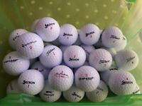 Twenty (25) White Lightly Used Golf Balls all VGC - cash on collection from Gosport Hampshire only