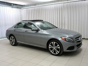 2016 Mercedes-Benz C-Class C300 4MATIC AWD SEDAN