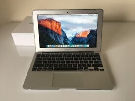"Apple 11"" Apple MacBook Air i5 1.6ghz 128gb ssd"