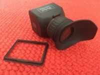 GGS Perfect HD DSLR LCD Foldable Viewfinder Eyecup with 3.0x Magnification Canon Nikon Panasonic