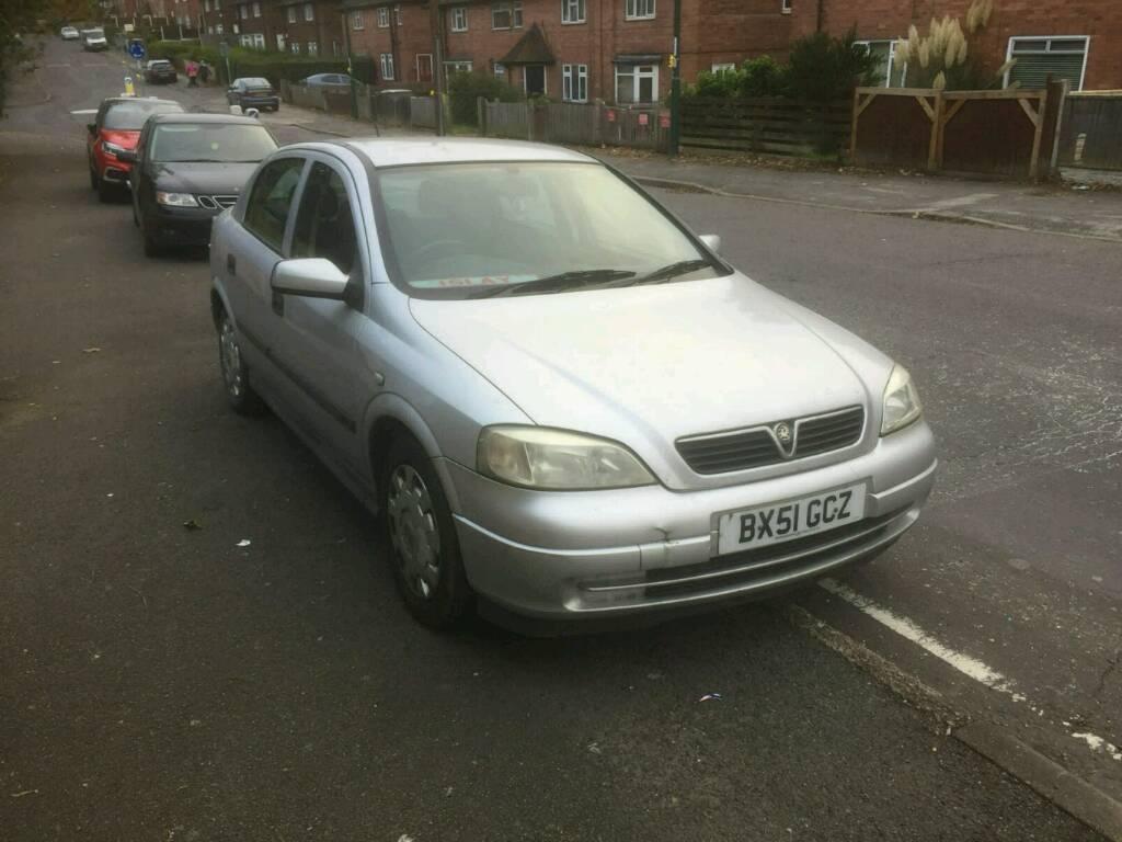 Vauxhall Astra 1.7 turbo diesel MOT