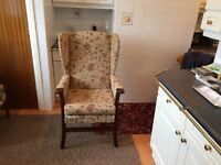 Shackleton wing back chair