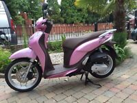 2015 honda sh125 mode pink as new no miles never used must be seen ,finance available £1999