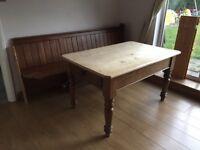 Farm house table