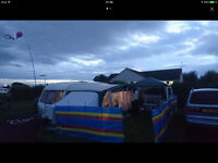 CARAVAN AWNING AND 2 ANNEXES