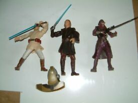 Luke Skywalker and other Starwars figures, Good clean condition