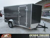 """2016 Stealth Trailers  6 x 12 +24"""" v nose / double rear doors /"""