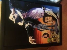 Limited edition Michael Jackson canvas.Lovely Xmas or birthday present!