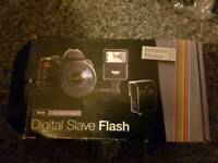 New boxed digital external flash