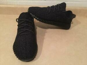 7dd0e43c58f Replica Mens Size 11.5 Adidas Yeezy Pirate Black Sneaker Shoes