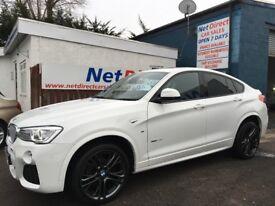 BMW X4 3.0 30d M Sport xDrive 5dr - 1 OWNER & SUPPLYING DEALER