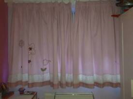 Girls Next curtains 55 by 90