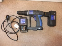 NuTool Drill 24v with charger